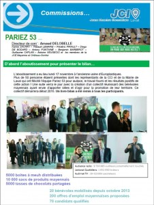 pariez 53 aboutissement